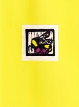 Bee Card - Yellow